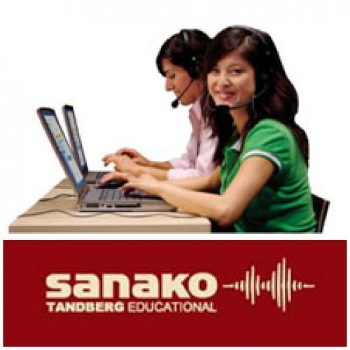 Интернет-поддержка лингафонного программного комплекса SANAKO Study 700 (на 1 год)
