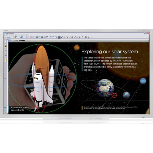 Интерактивный дисплей SPNL-4084 interactive flat panel с ключом активации SMART Notebook