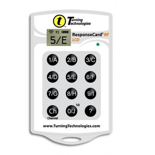 Комплект Turning Technologies 50 пультов RF LCD