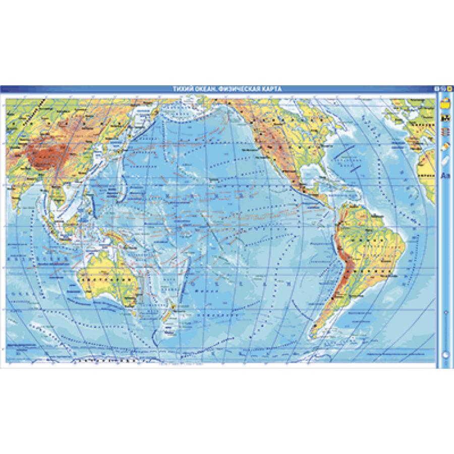 У экватора выпадает много осадков, в районе тропиков осадков мало - посмотрите на карту, какой океан самый соленый?