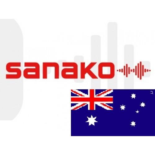 Голосовой словарь «Английский язык» (Австралия) для Sanako Pronounce