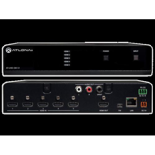 4K UHD 5x HDMI Коммутатор